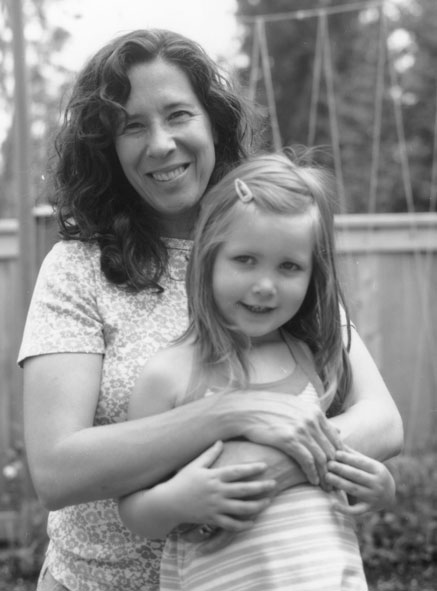 Angela and Mara, June 2009